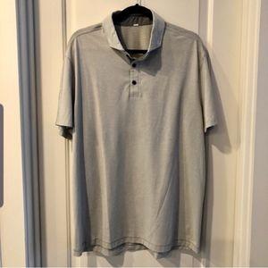 🆕️ Lululemon Light Grey Polo Great Condition XL